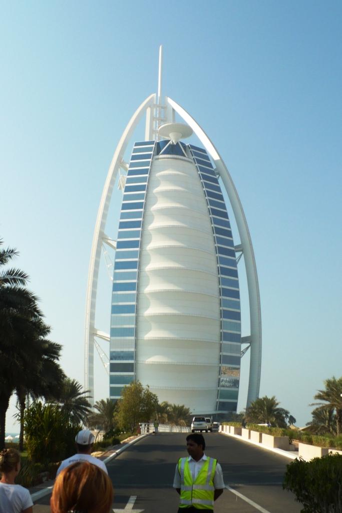 Дубай.Отель Парус.