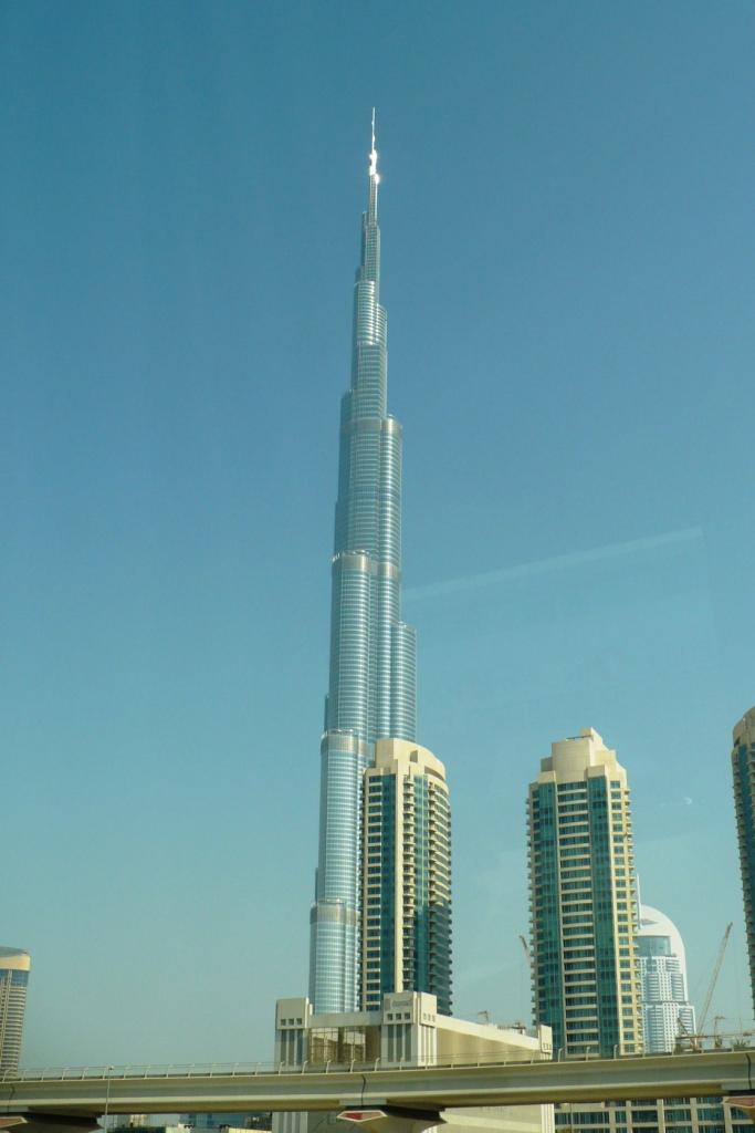 Дубай. Самое высокое здание.