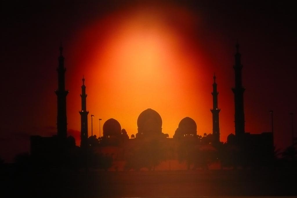 Абу-Даби.Отель Дворец Шейха. Картина.