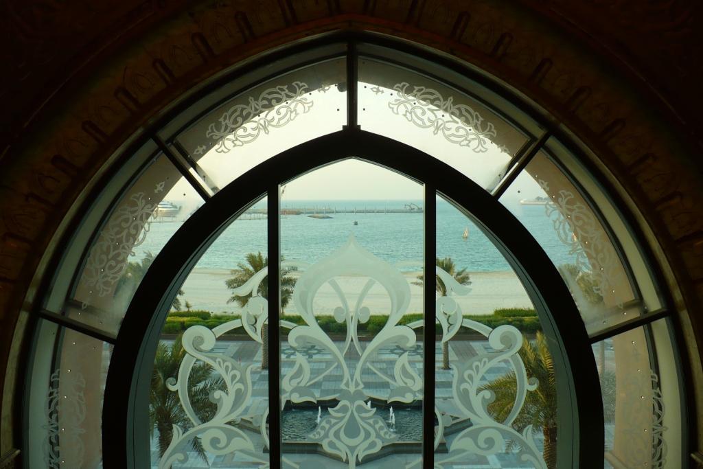 Абу-Даби.Отель Дворец Шейха.