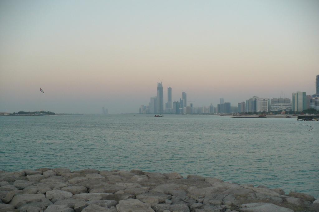 Абу-Даби. Набережная.