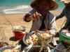 Нячанг. Еда на пляже.